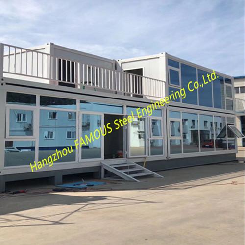 主图Foldable Flat Pack Container House With Glass Facade Decoration For Office Use (6)_副本