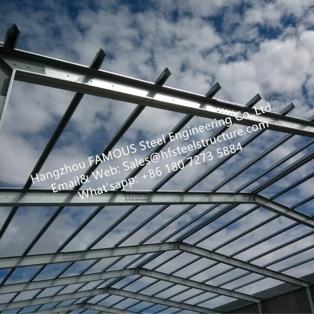 Australia New Zealand British Standard DHS Equivalent Galvanized Steel Purlin Girts light gaged_