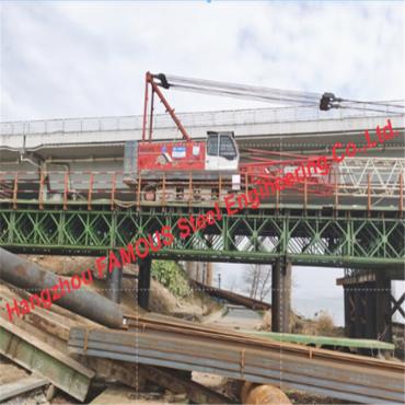 Highway Railway Skewed and Curved Steel I-Girder Truss Bridge Construction Company