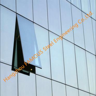 Australia Standard Certified Aluminum Glass Windows and Curtain Walls