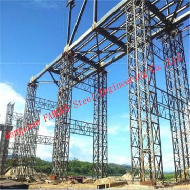 Hot Galvanized Double Lane Pre – Engineered Bailey Bridge Construction Steel 200 Type