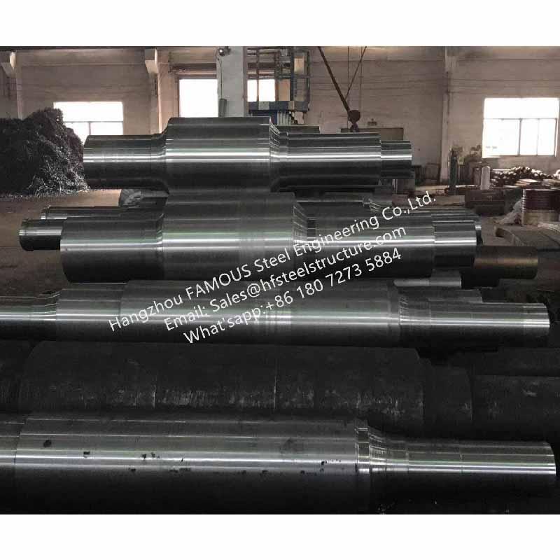 0_主图Forged steel mill work rolls manufacturing China factory for hot rolled metal sheet and billet mill usage 4