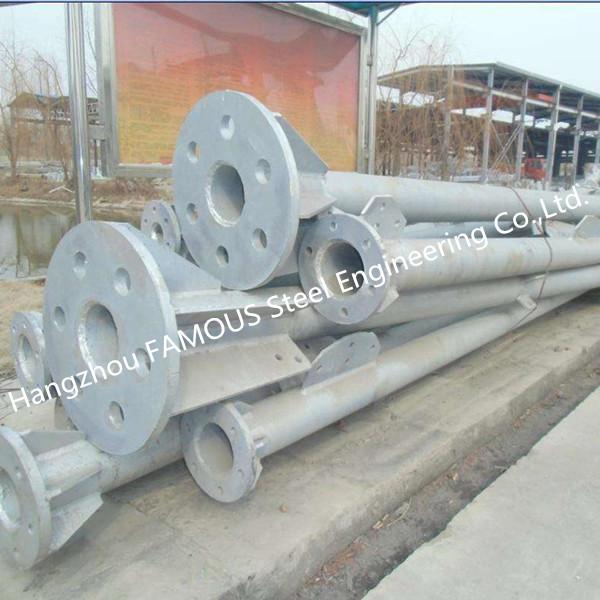 Galvanized Steel Pole 5
