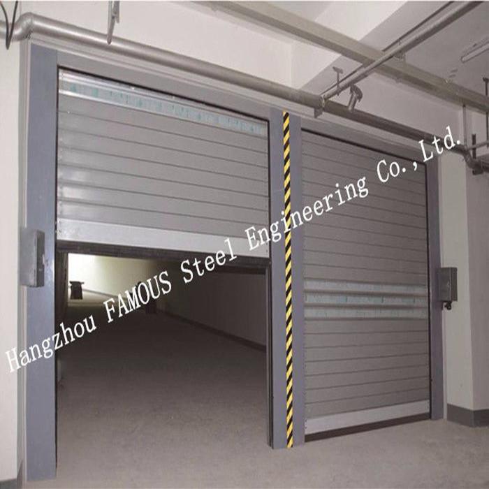 Galvanized Treatment Surface High Speed Metal Doors Electrical Shutter Door Customized_副本