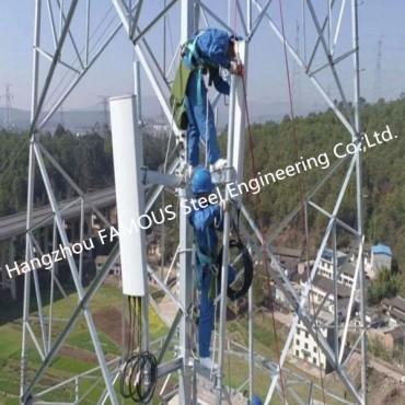 Self Supporting Telecom Communication Steel Tubular Lattice Tower