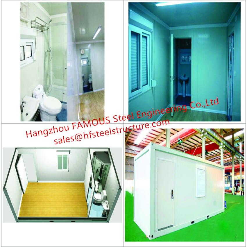 主图Portable Luxury Container House With Interior Decorations  BedroomBathroomKitchenWashbasin