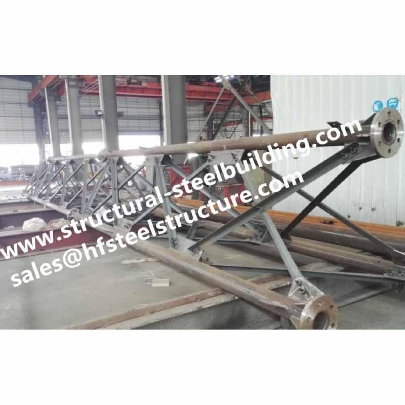 0_主图Hot galvanized steel tubular lattice tower for electrical power telecommunication antenna distribution 3