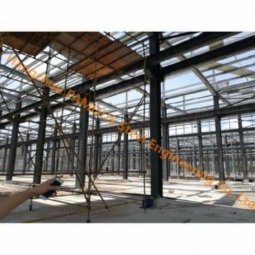 Custom noforonina talohan'ny Structural Steel-hoatr'izany Building Contractor