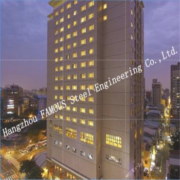 Civil Engineering Construction Prefabricated Steel Buildings Residential Modern Hotels