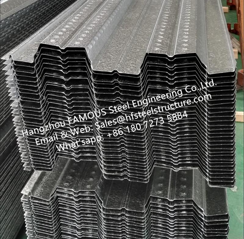 metal floor decking system